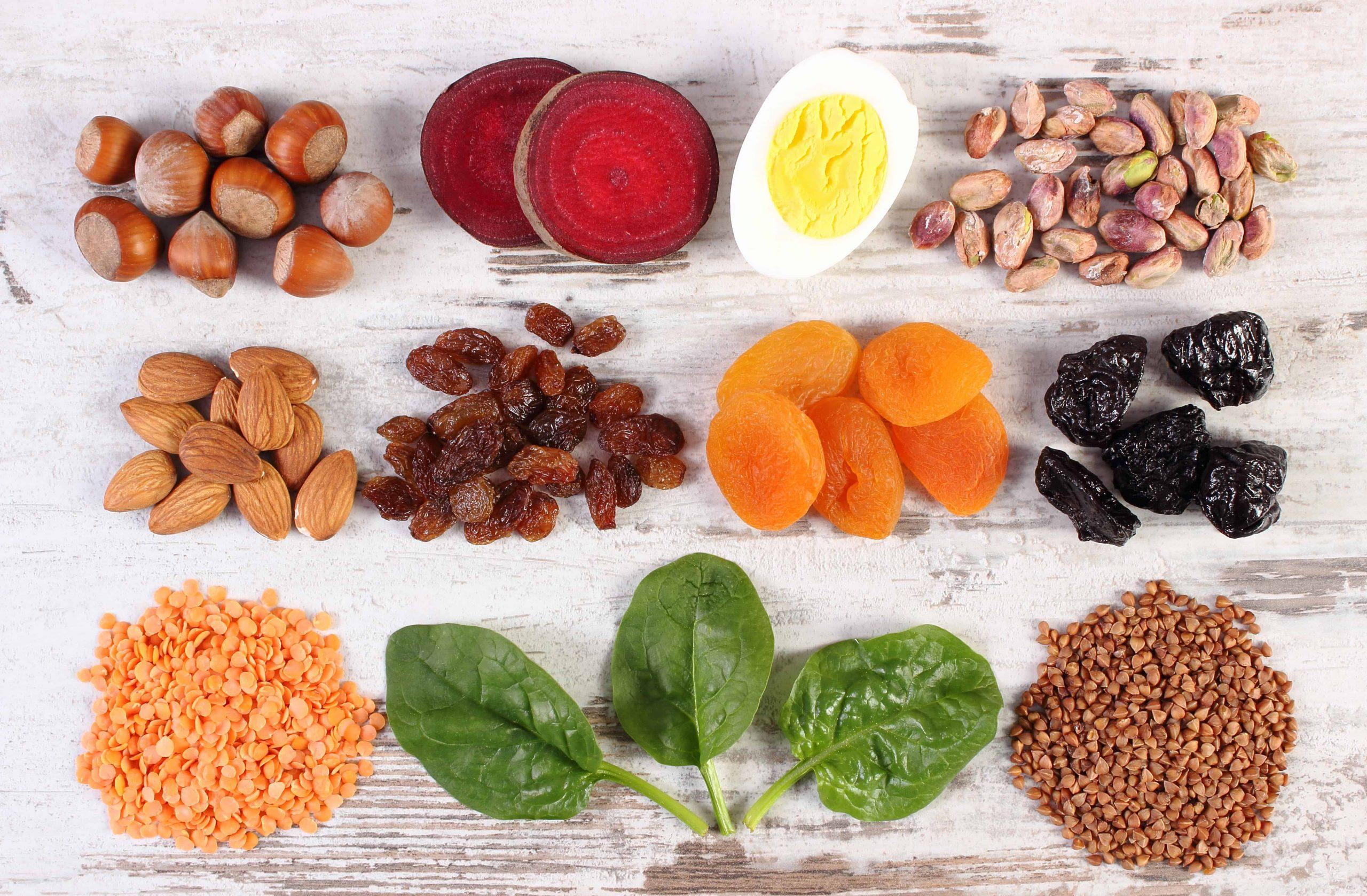 Lebensmittel mit Eisen: Informationen für eine eisenreiche Ernährung