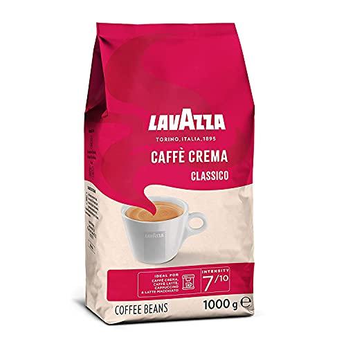 Lavazza Caffè Crema Classico, 1kg-Packung, Arabica und Robusta, Mittlere Röstung