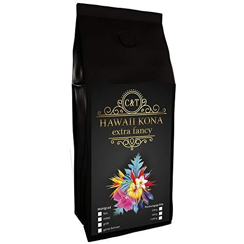 HAWAII KONA Das braune Gold aus Hawaii einer der besten Kaffees der Welt (500 Gramm, Ganze Bohnen)