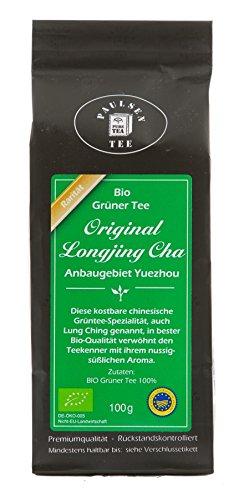 Paulsen Tee Grüner Tee Bio Longjing Cha 100g (129,50 Euro / kg)