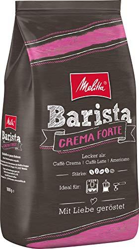 Melitta Barista Crema Forte, Ganze Kaffeebohnen, Stärke 4, 1kg
