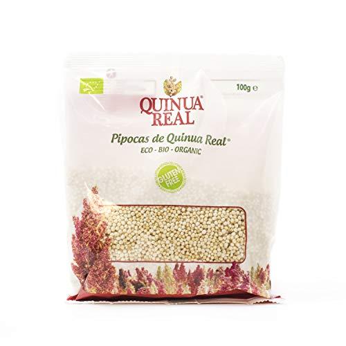 "Quinua Real Gepuffte Quinoa Real (""Pipocas"") BIO glutenfrei (Box mit 8 Stück), 800 grams"
