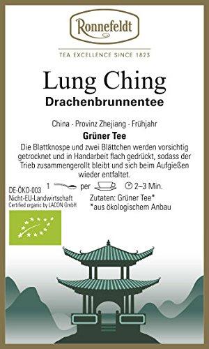 Ronnefeldt - Lung Ching - Bio - Grüner Tee, Herstellung Formosa-Art - 100g