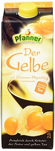 Pfanner Der Gelbe Zitrone-Physalis, 6 x 2 l Packung