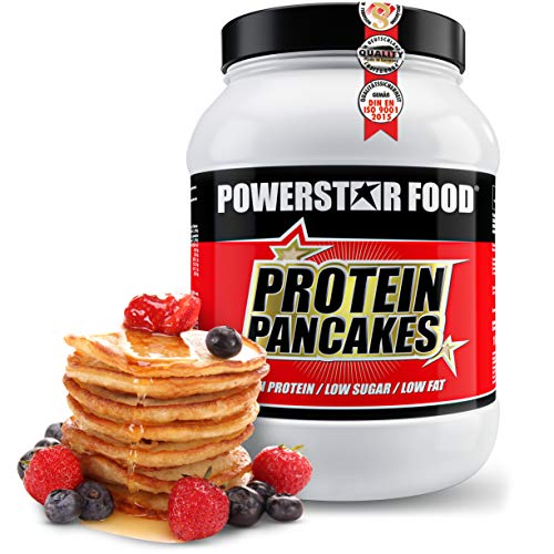 PROTEIN PANCAKES   1000g   Low carb Pfannkuchenmischung   low fat   Nur 1,7% Zucker & 1,2% Fett   Ganze 41,1g Protein p.P.   Köstlicher Geschmack   Perfekt als Frühstück & zwischendurch (Süß, 1000g Dose)