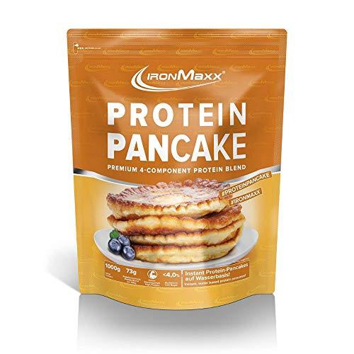 IronMaxx Protein Pancake Low Carb Pfannkuchen Backmischung, Geschmack Vanille, 1 kg Beutel (1er Pack)